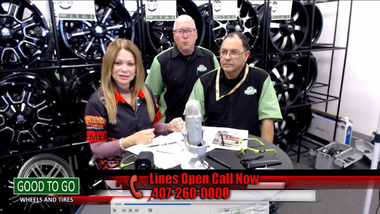 RadioRPM Live show for 3-25-17 from GOOD TO GO Wheels and Tires