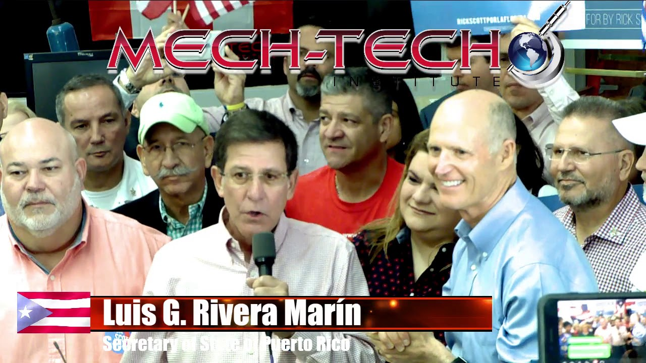 Mech-Tech Special Presentation with Florida Gov. Rick Scott
